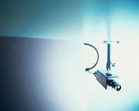 Surveillance Camera --- Image by © Royalty-Free/Corbis