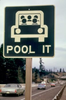 Pool_It-_Sign_North_of_Vancouver_Washington_Was_a_Reminder_That_the_Gasoline_Shortage_Was_Not_over_in_March_1974_and_Sharing_Rides_Was_a_Good_Idea_03-1974